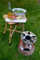 Horizon rocket stove