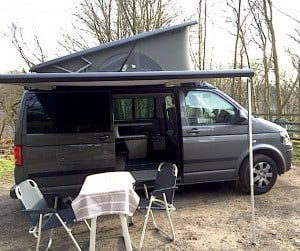 VW California Beach with awning