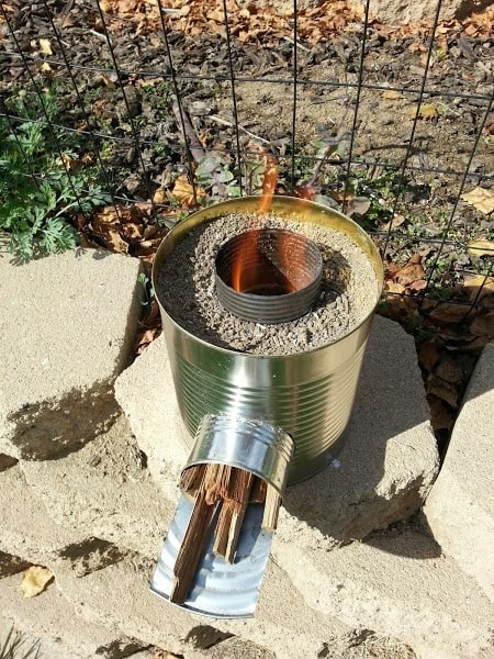 build your own rocket stove campfire magazine