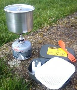 Geocaching lunch
