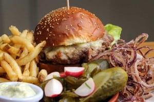 Number four burger