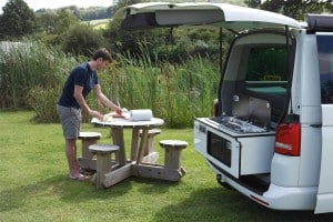 Car Becomes A Mini Campervan Berlingo Stealth Camping