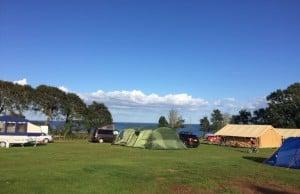 Slapton Sands campsite