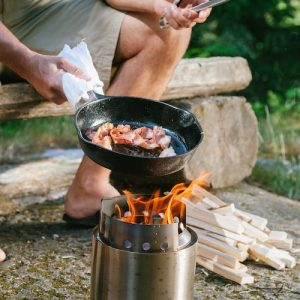 The Campfire Solo Stove four-person stove