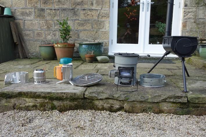 wood-burning camping stoves