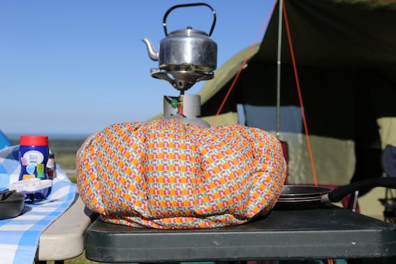 Wonderbag on a campsite