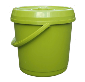 bucket with lid for camping toilet