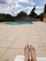 Pool at Les Terrasses