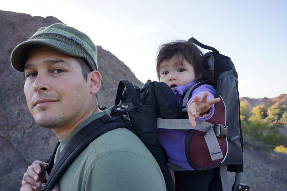 Leo Barnes hiking