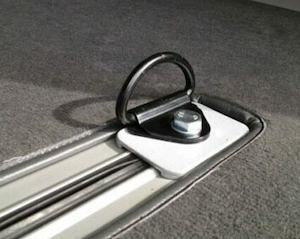 floor rail anchor