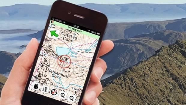 Viewranger hiking map app